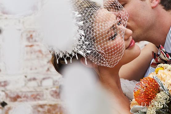 Elegant Wedding Headpieces Birdcage Veil