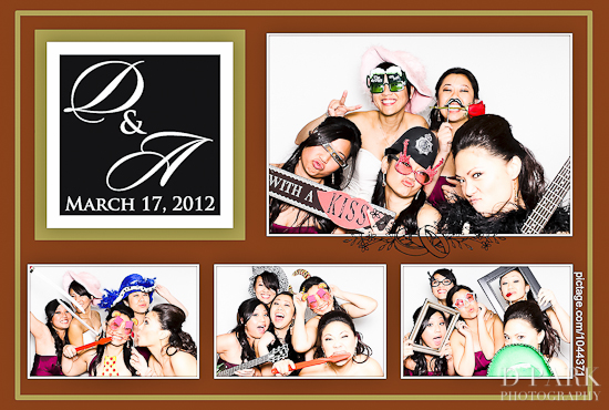Orange County Wedding Photo Booth