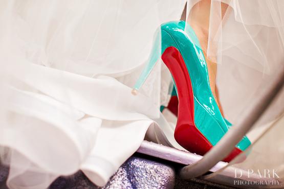 Disneyland Fairy Tale Wedding Louboutin Heels