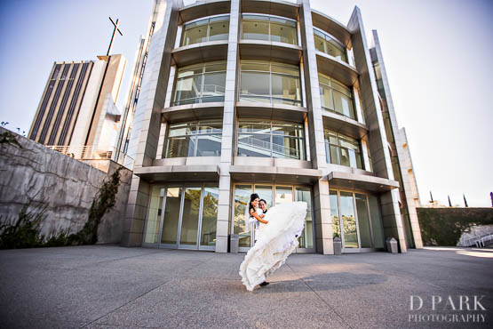 Christ Cathedral Wedding Photographer