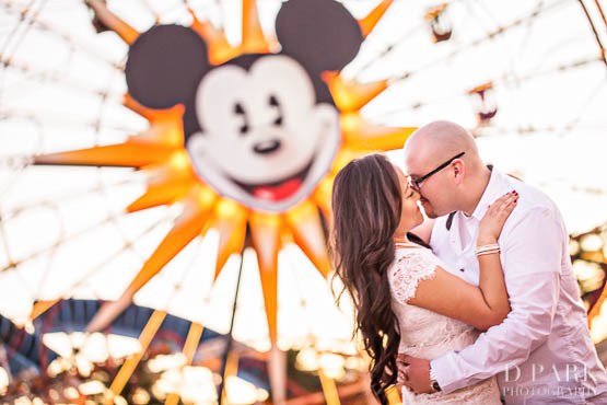 Disneyland engagement