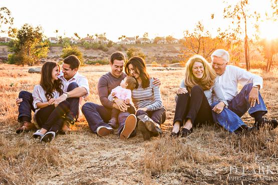 irvine park family photos