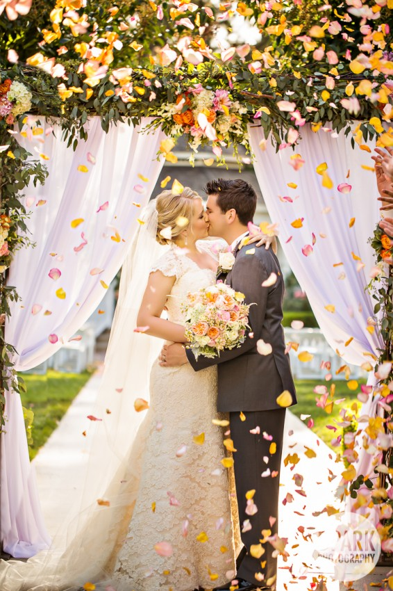 disney fairy tale wedding ceremony photos