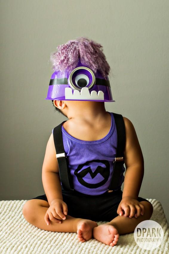 purple monster minion costume despicable me ideas