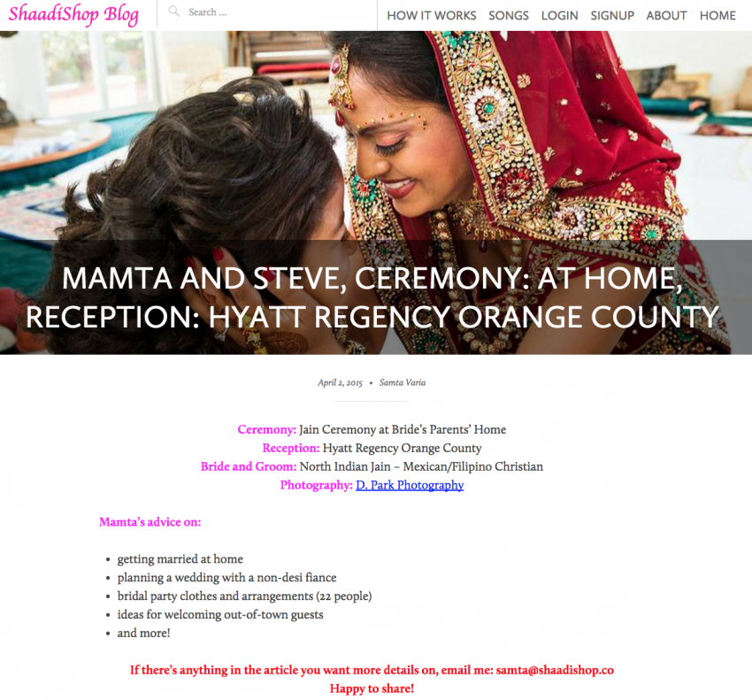 Orange County Indian Wedding Photographer