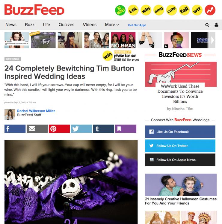 tim-burton-inspired-wedding