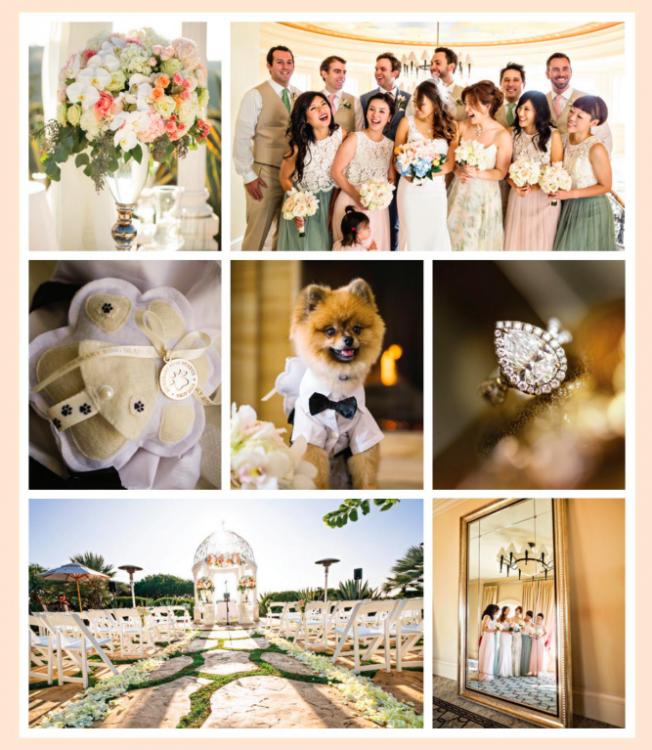 Inspiration, ideas, wedding, dress, ring, venue, accessories, bridal party, bridesmaids, groomsmen, menswear, florals, centerpieces, peach, sage, green , neutral, blush, white
