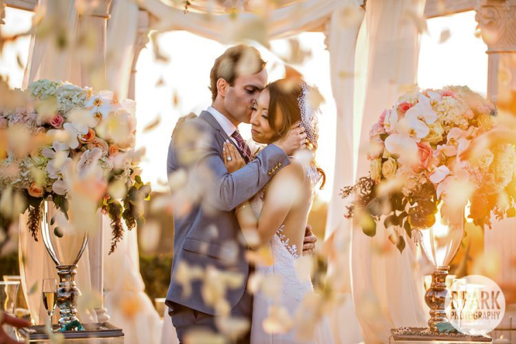 florals, ceremony, bride, bridal, groom, flowers, blush, coral, aqua, sage