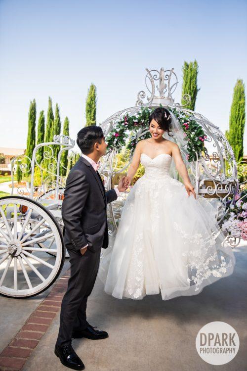 orange-county-vietnamese-cinderella-carriage-coach-wedding