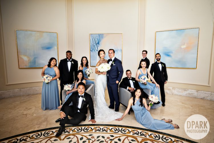 dana-point-orange-county-blue-bridal-party