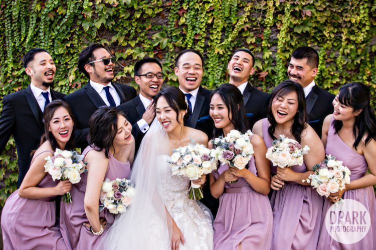 orange-county-yorba-linda-korean-wedding-purple-bridesmaids