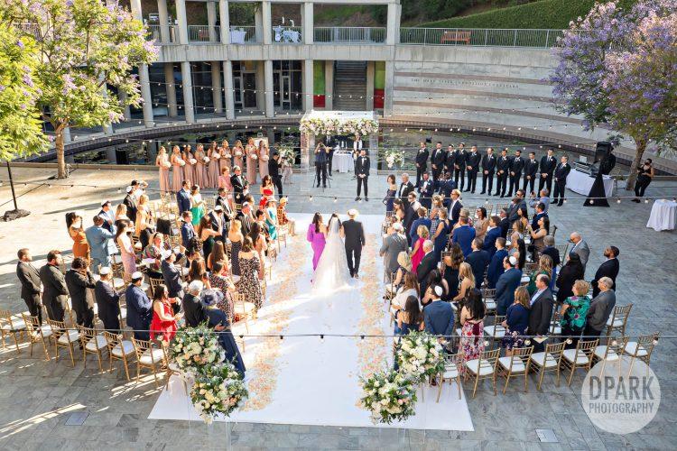 skirball-cultural-center-wedding-ceremony